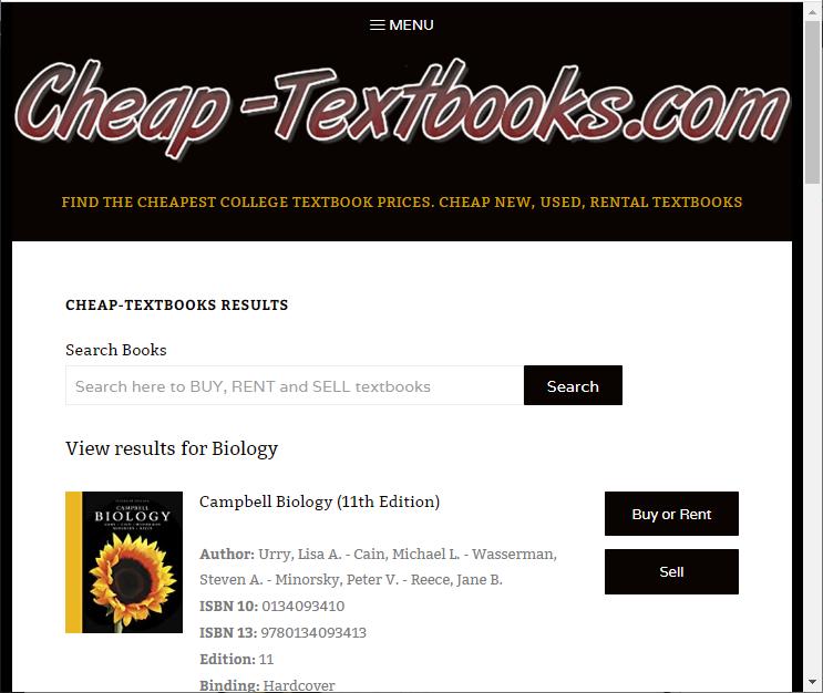buyback textbooks